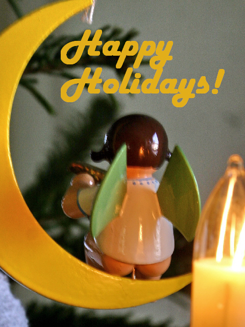 Happy holidays free ecard1