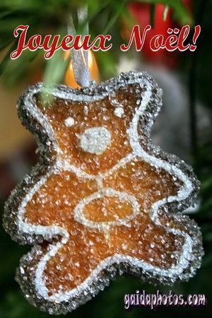 Fröhliche Weihnachten in verschiedenen Sprachen - Französisch