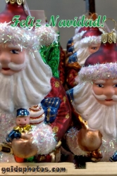 Fröhliche Weihnachten in verschiedenen Sprachen - Spanisch