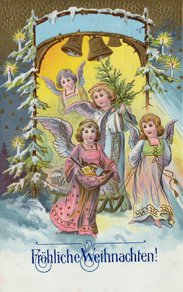 Weihnachtskarten aus dem kaiserreich weihnachten - Bilder weihnachtskarten ...