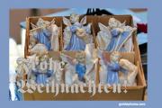 Weihnachtskarte Engel Musik