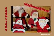 Weihnachtskarte Weihnachtsmann, Nikolaus, Santa Claus