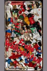 Weihnachtskarte Spielzeug