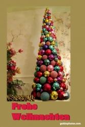 Weihnachtskarte Weihnachtsbaum