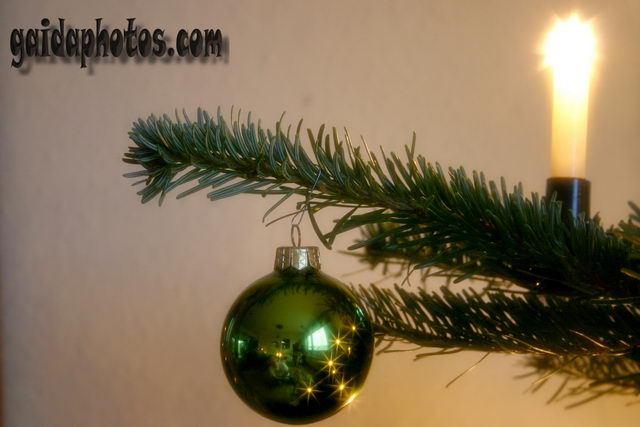 Weihnachtsbilder - Weihnachtsbaum Deko