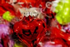 Weihnachtsbilder von Engeln, Herzen und Schneemännern