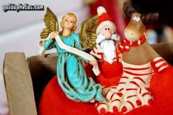 schöne Bilder zu Weihnachten: Engel, Weihnachtsmann, Elch